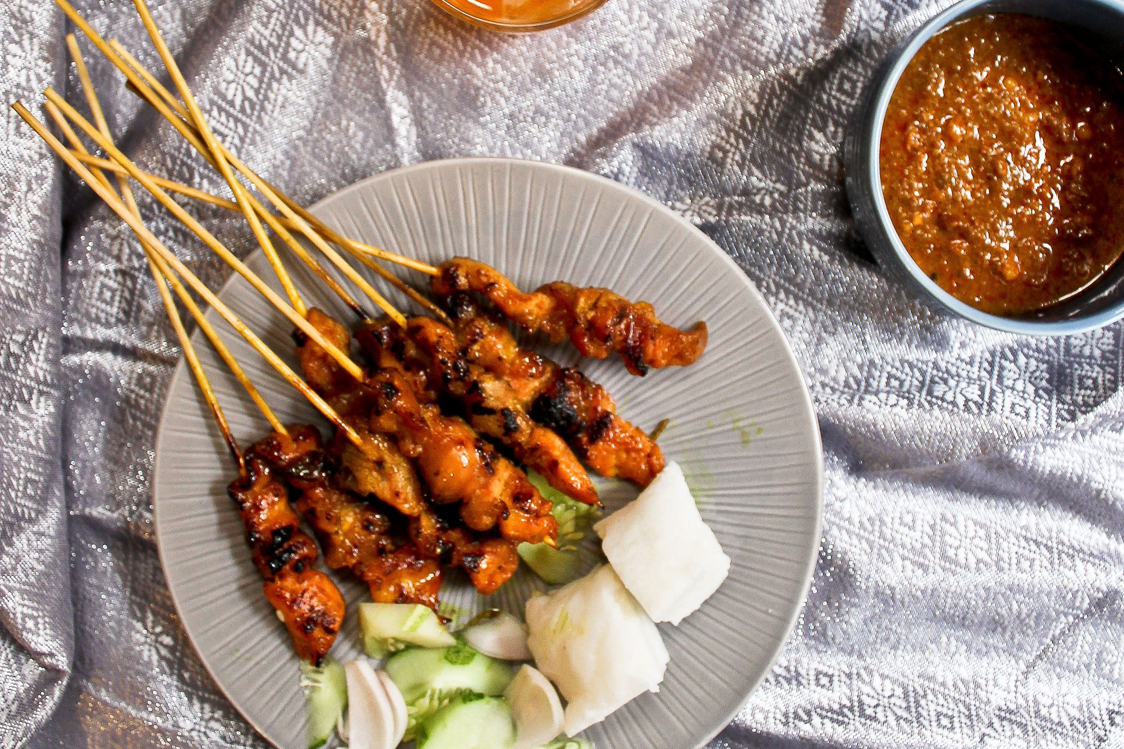 Chicken Satay With Peanut Sauce Recipe