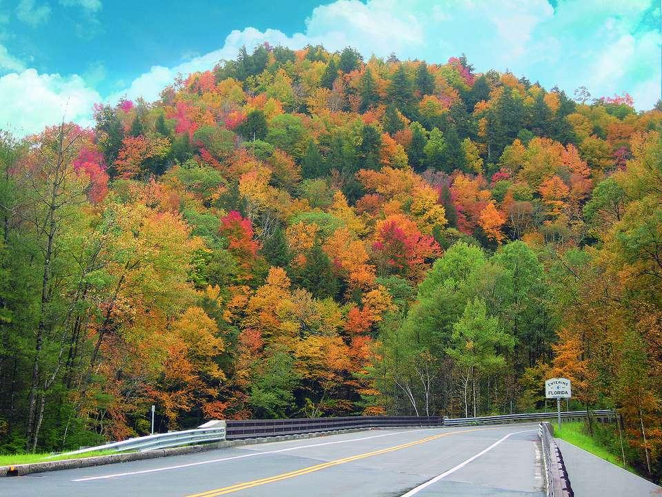 Mohawk Trail in Massachusetts