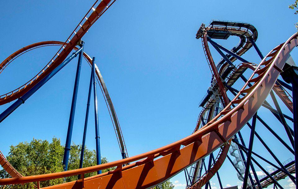 Valravn coaster Cedar Point.