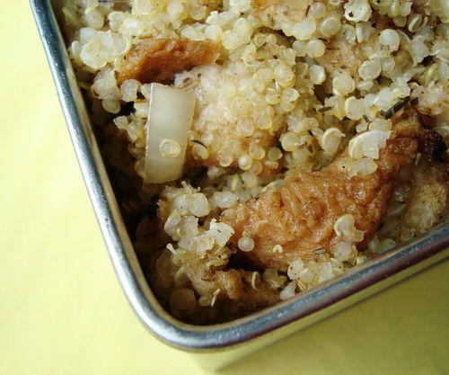 Vegetarian quinoa stuffing