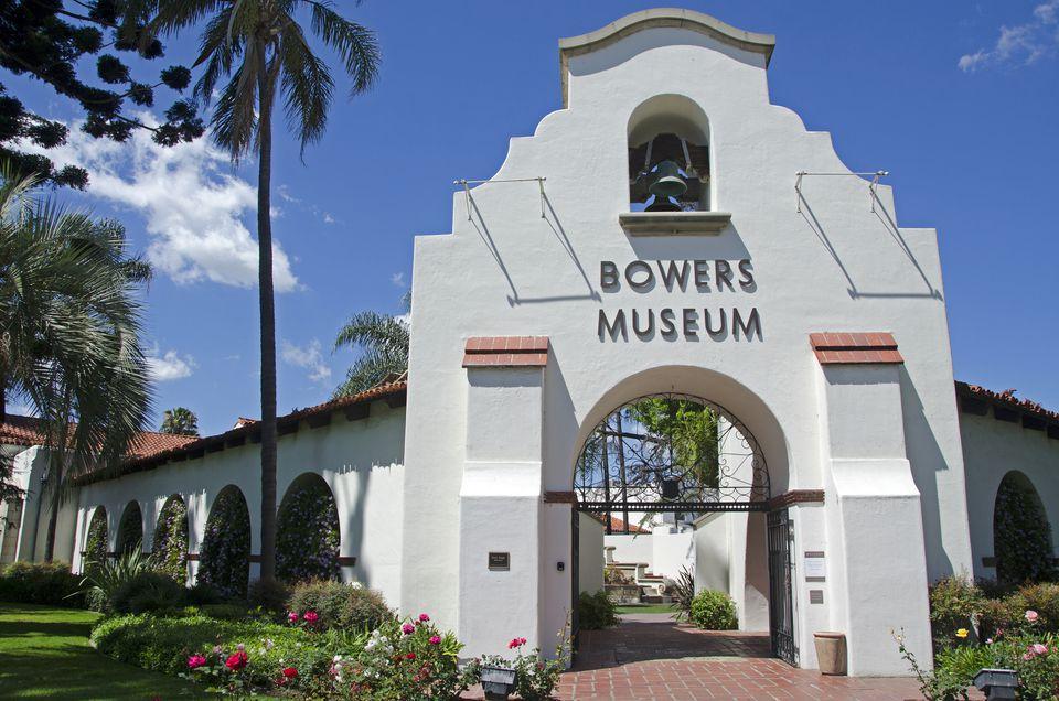 Bowers Museum entrance