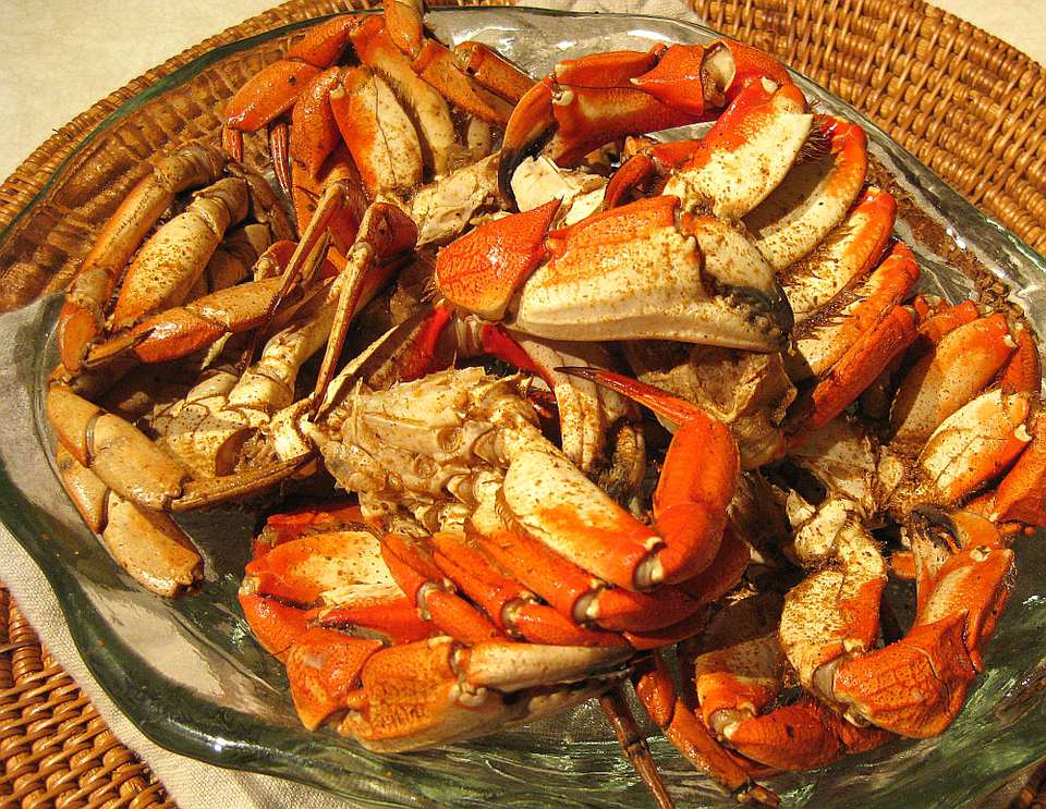 Sweet & Spicy Beer Steamed Rock Crab