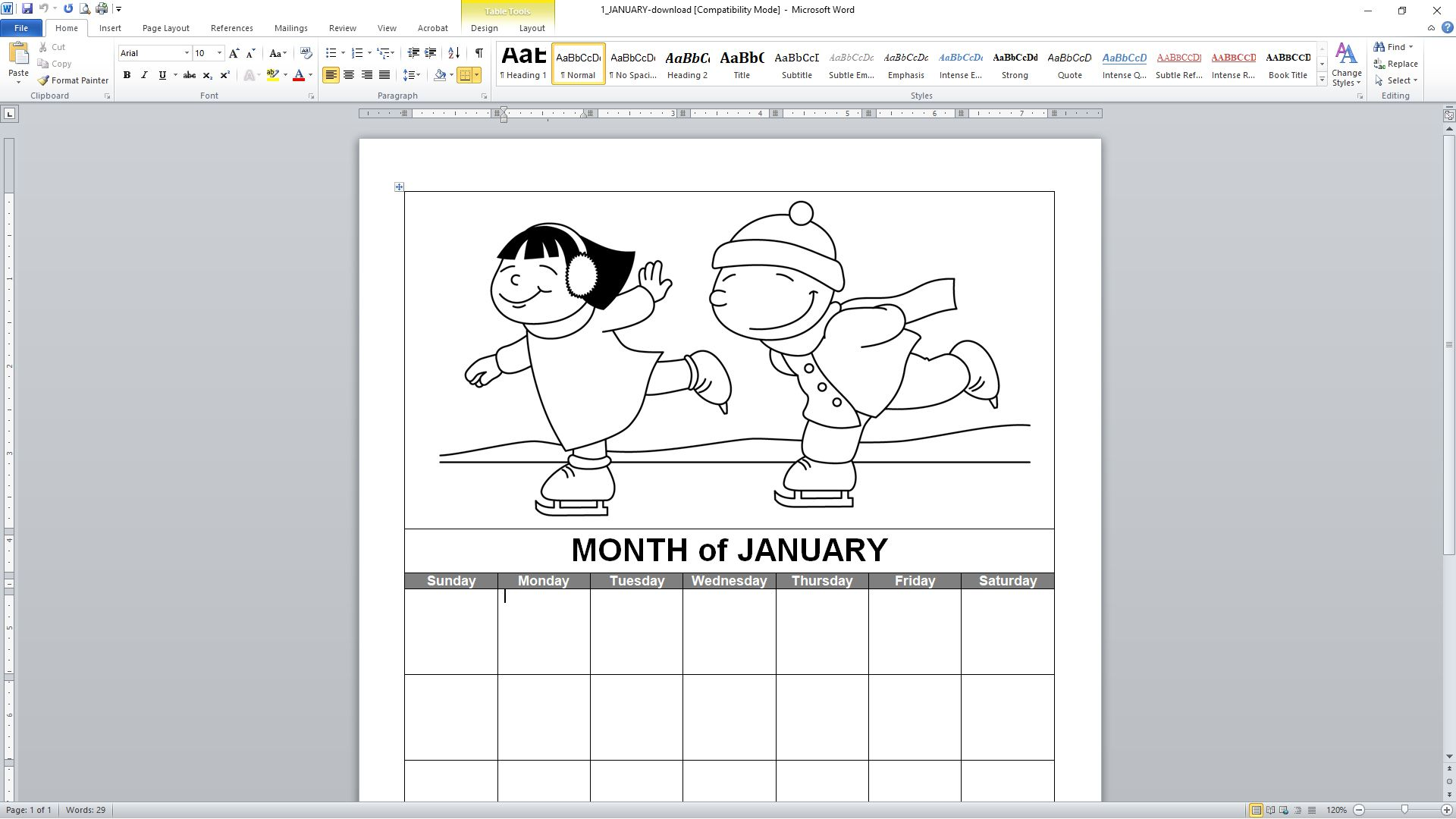 89 free calendar templates for 2018 and beyond