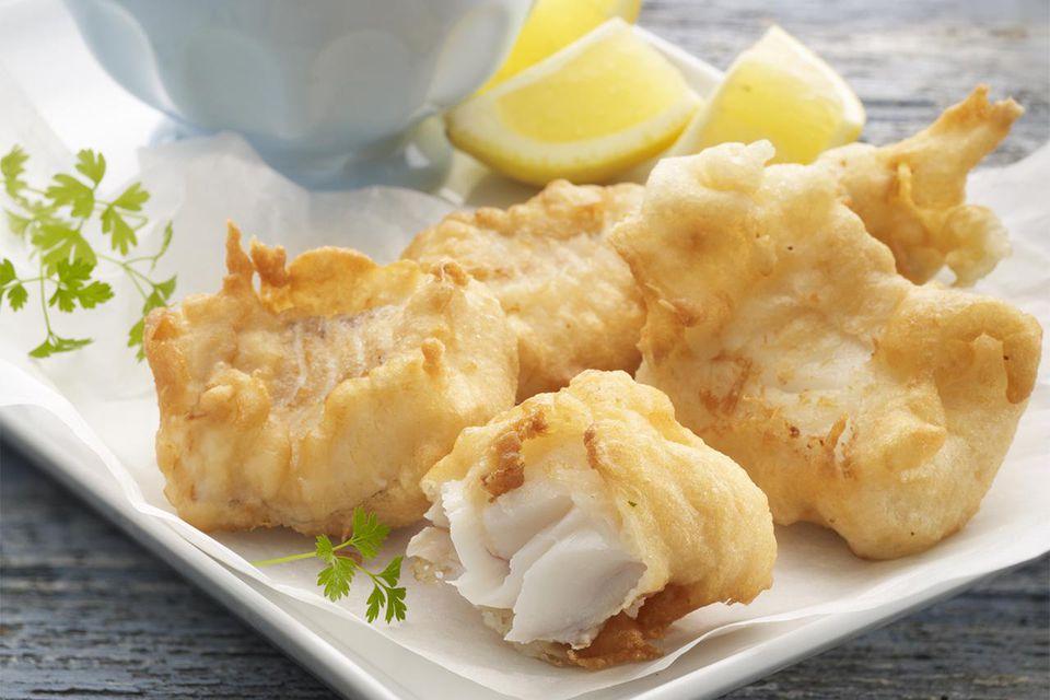 Cod beignets with tartar sauce