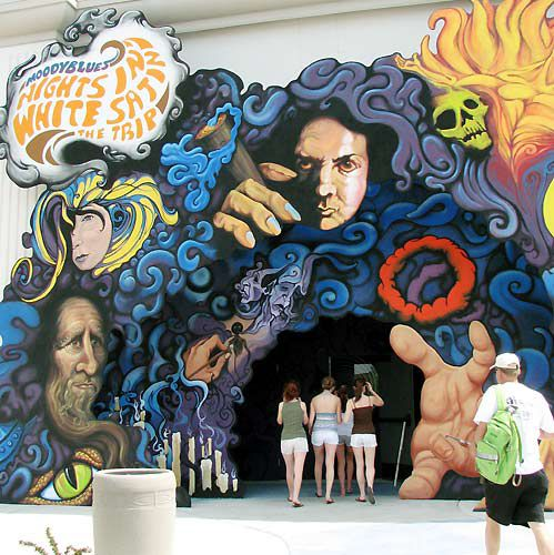 Nights in White Satin- The Trip Busch Gardens picture