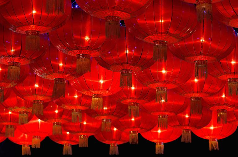 Lanterns show for the Chinese Lantern Festival on February 6 and traditionally marks the end of the Lunar New Year