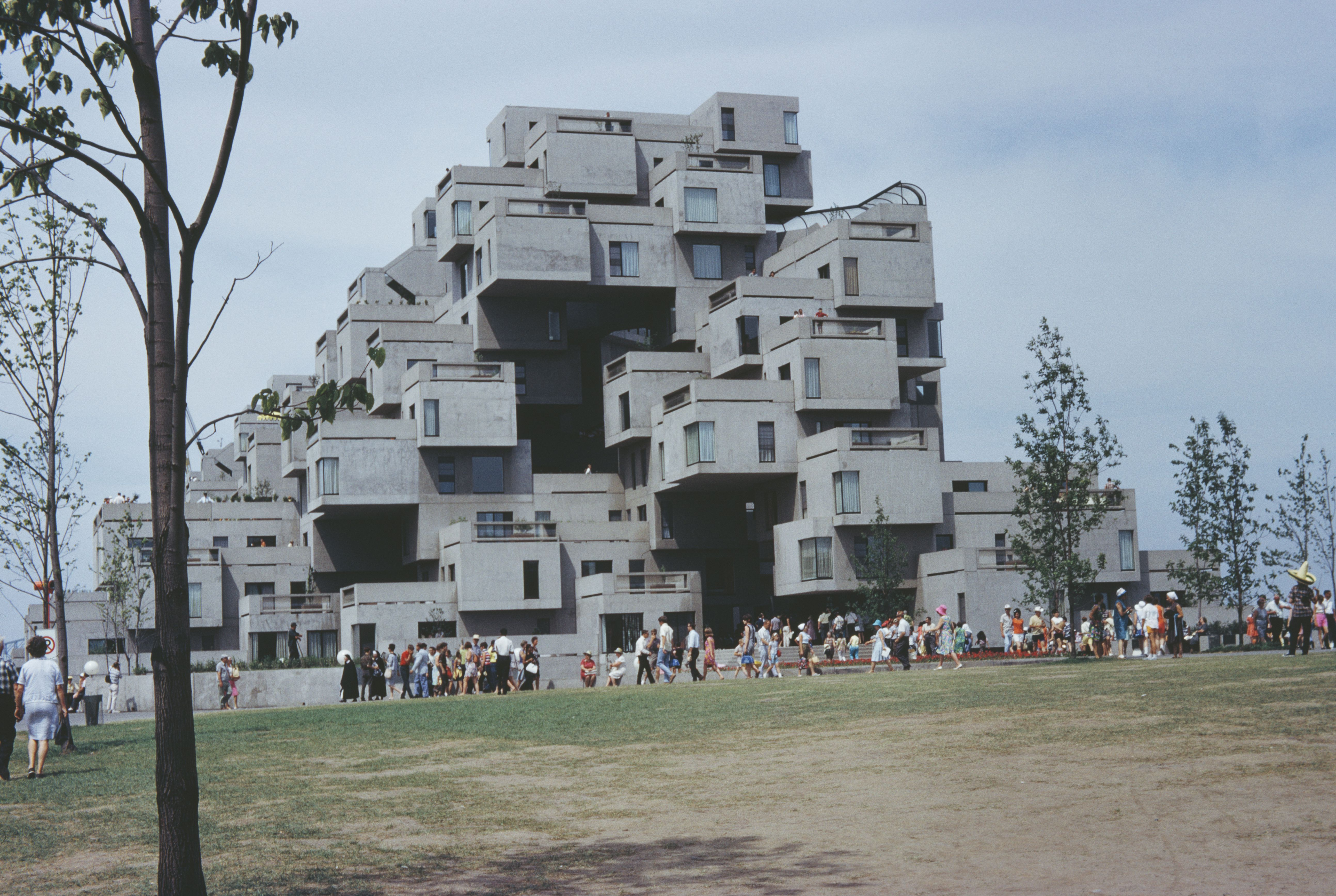 In 1967 a young architect named moshe safdie was the talk of montreal canada when he designed