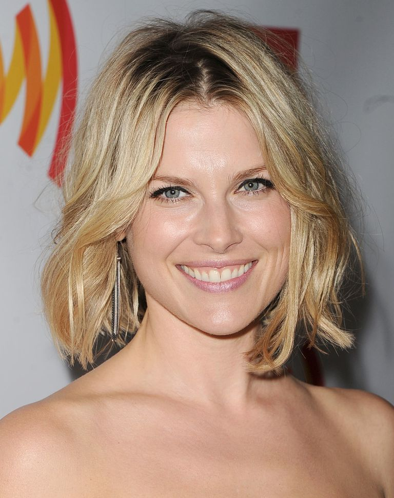 A Long Choppy Bob Is Great for Heart-Shaped Faces - Flattering Hairstyles For Heart-Shaped Faces