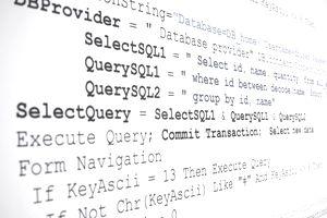 SQL programming language