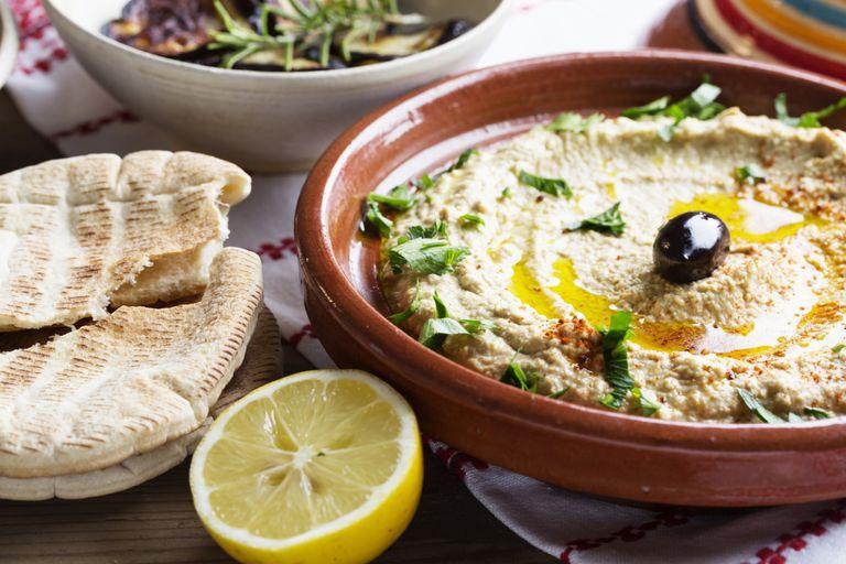 Hummus mediterranean style