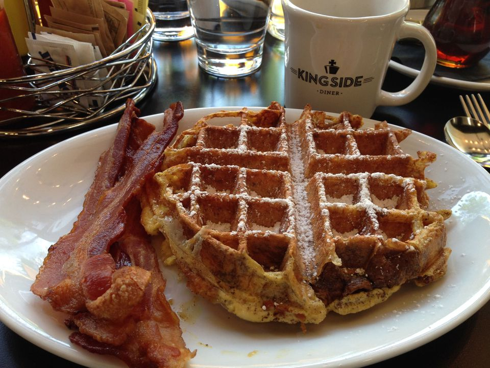 French Toast Waffle at Kingside Diner