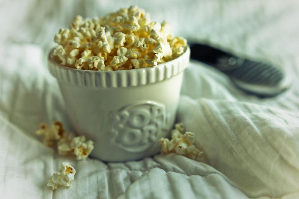 Popcorn in Bed