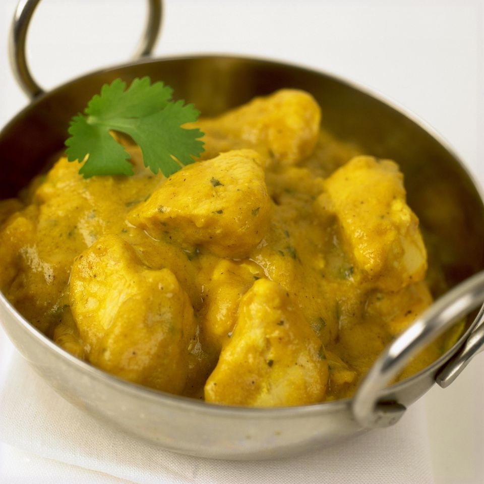 Baked Curried Chicken Breasts
