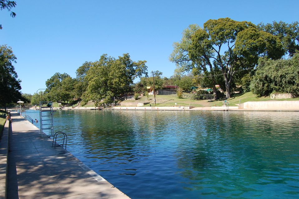 Barton Springs Pool in Zilker Park