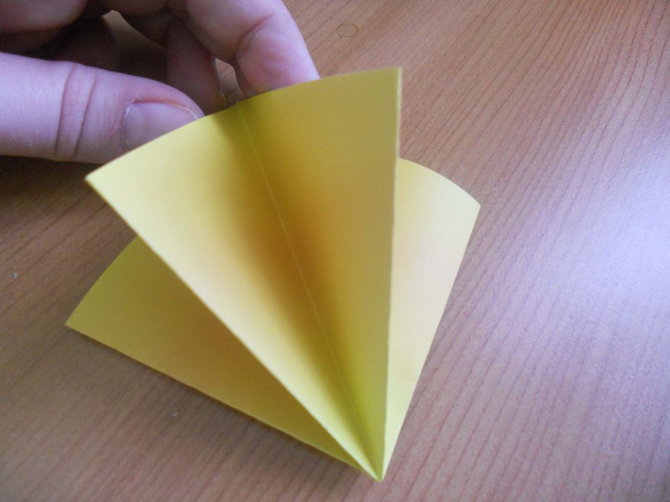 Start learning origami by folding the square base easy origami flower mightylinksfo