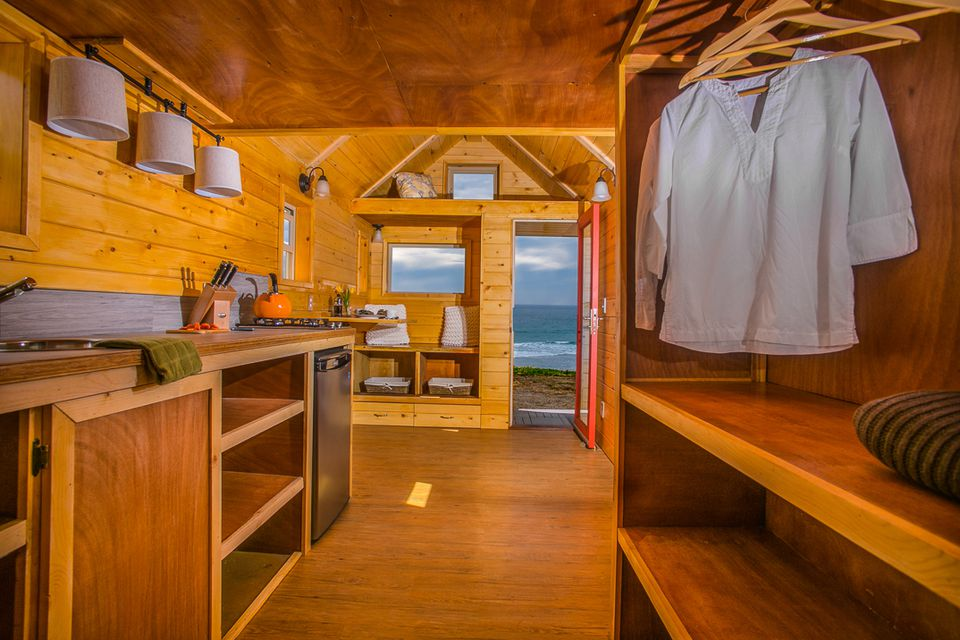The Half/Half Tiny House is a Highly Insulated Home