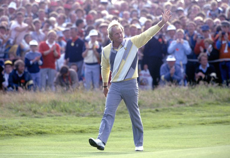 Greg Norman at the 1986 Open Championship