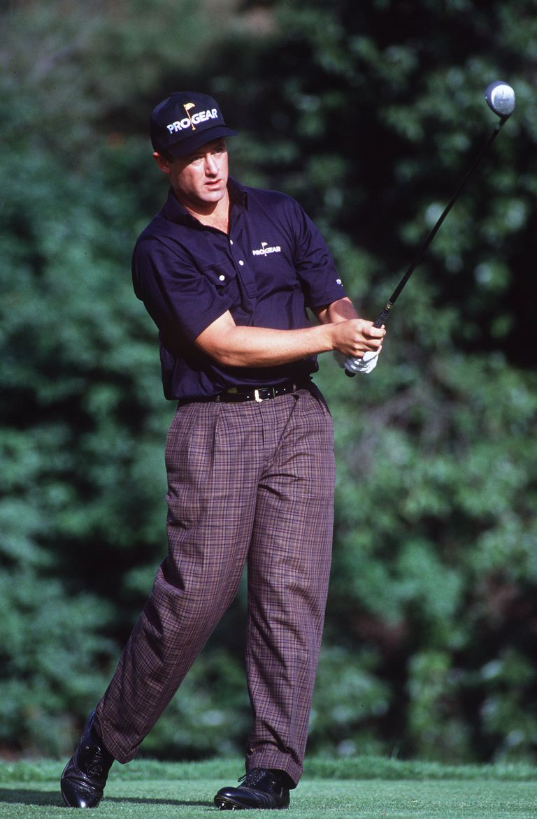 Carl Cooper pictured during the 1992 Los Angeles Open.