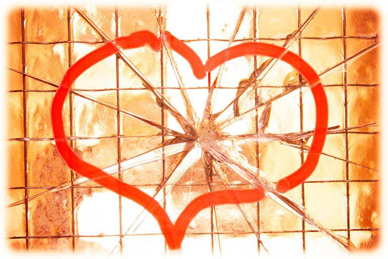 Broken heart.
