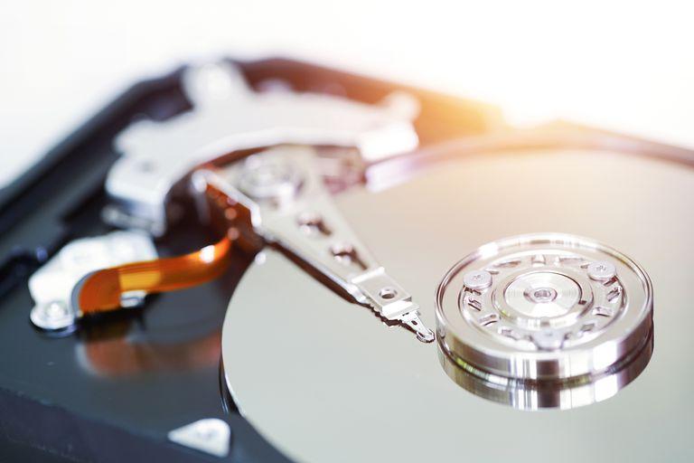 A hard drive disk.