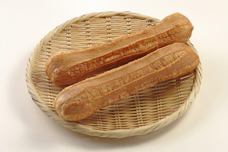 deep-fried seitan (wheat gluten)