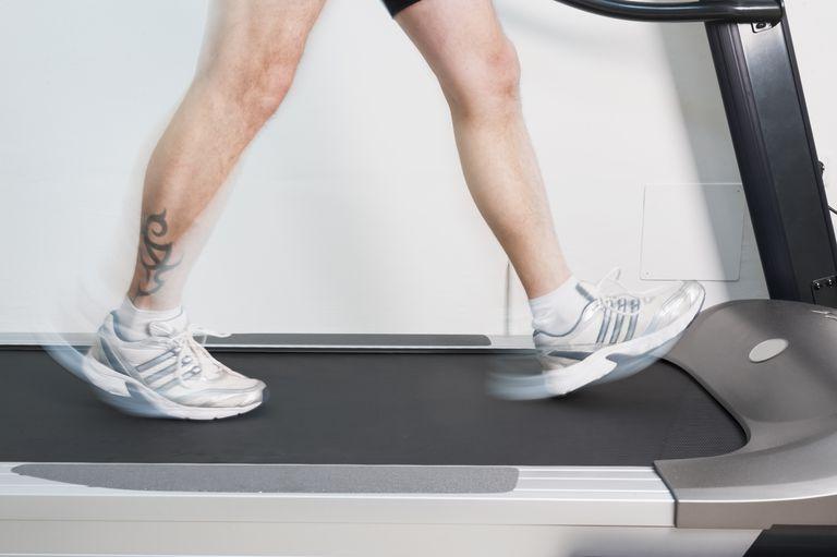 Walking Fast on the Treadmill