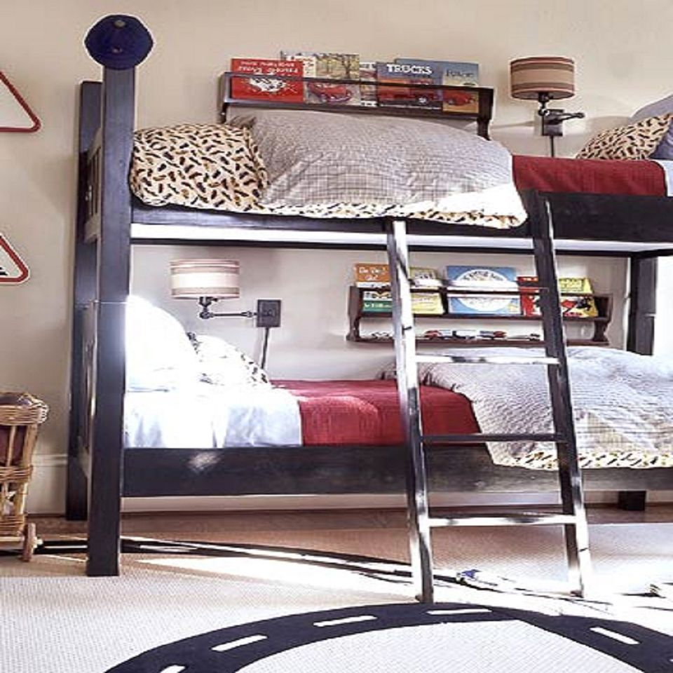 shared bedroom ideas. Photo courtesy of Better Homes and Gardens  If the shared bedroom Great Ideas for Shared Kids Bedrooms