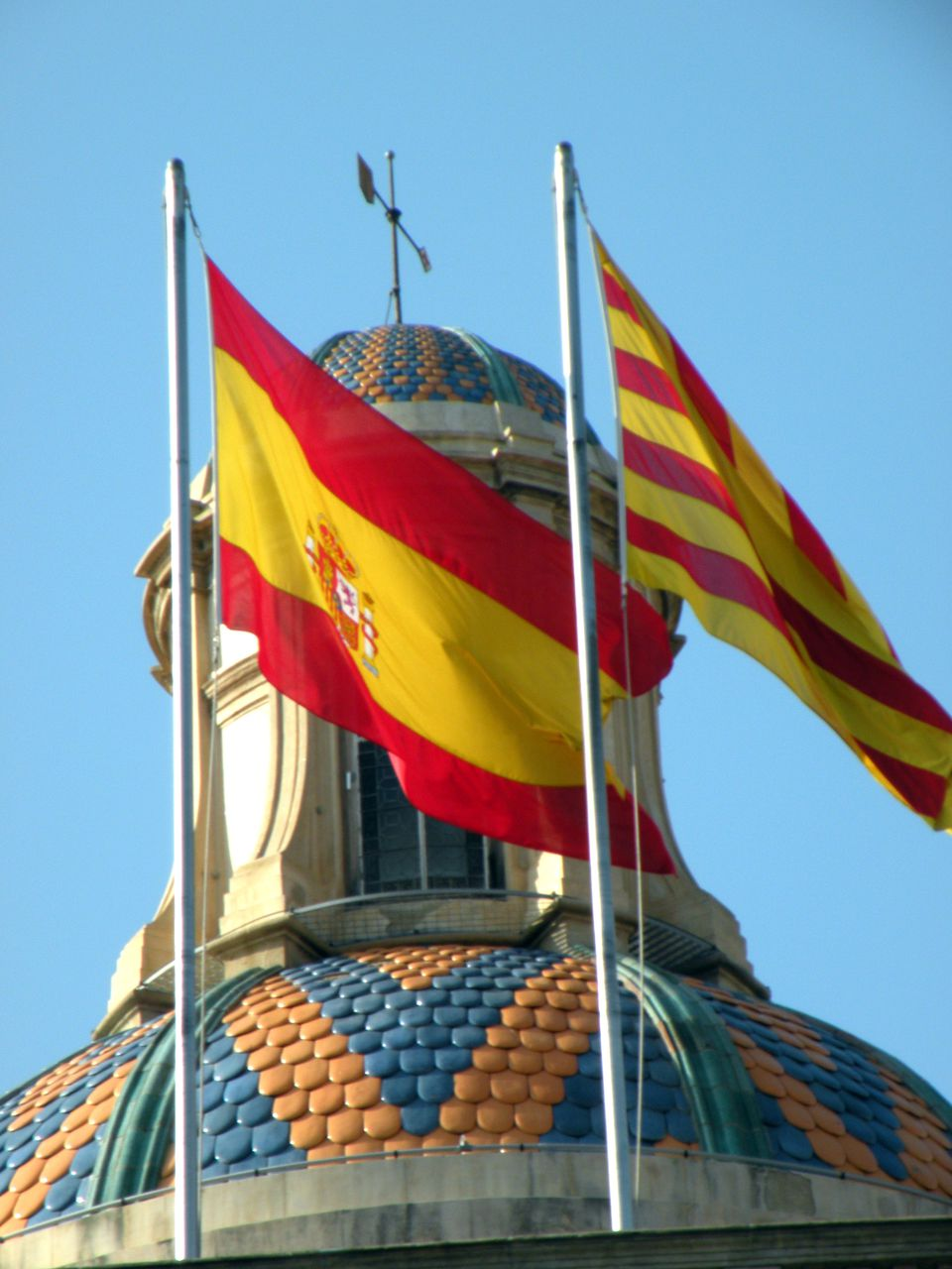 Catalan and Spanish are both official languages of Catalonia in Spain