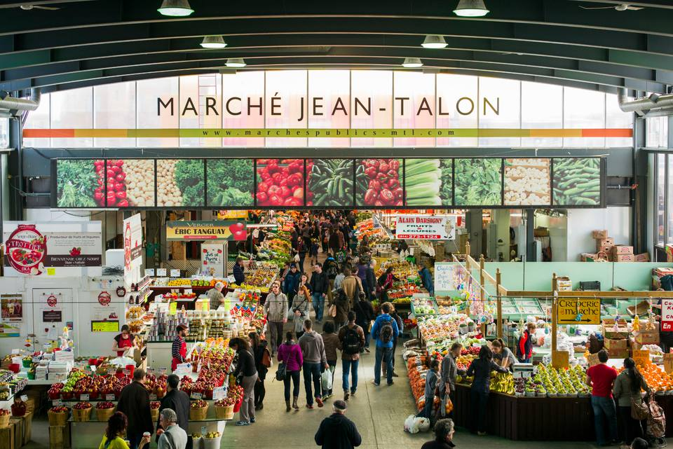 Montreal November 2017 events include visiting Marché Jean-Talon.