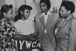 Woman And Marian Anderson