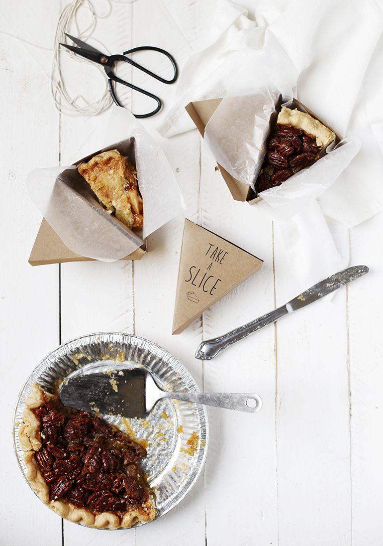 DIY Pie Slice Boxes