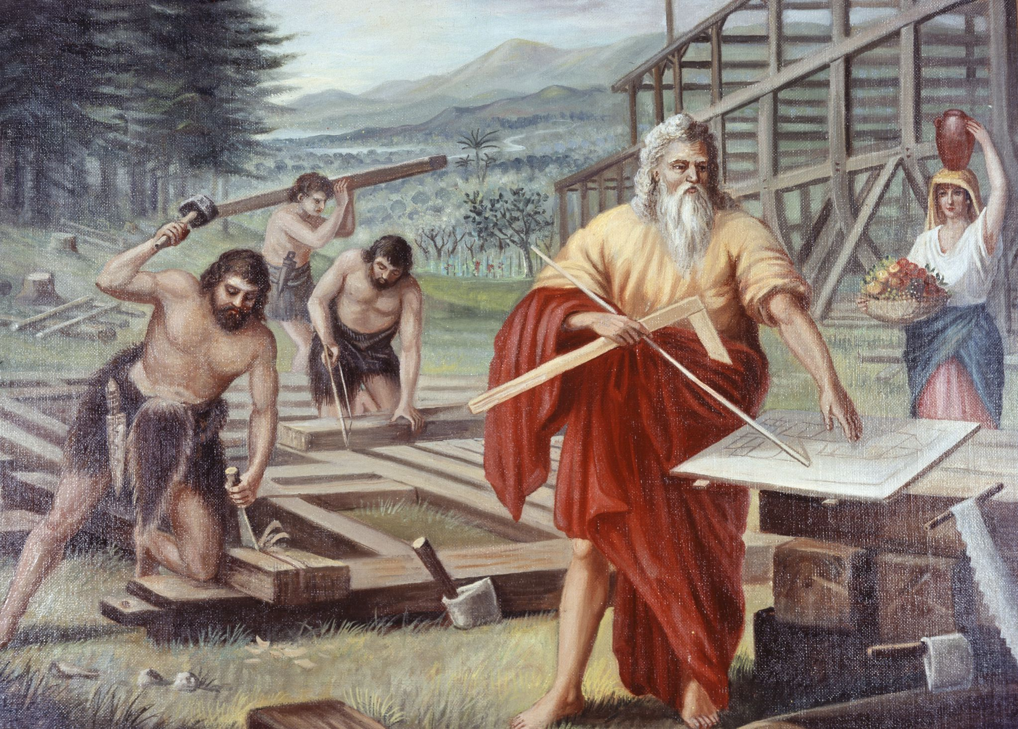 the story of noah u0027s ark and the flood