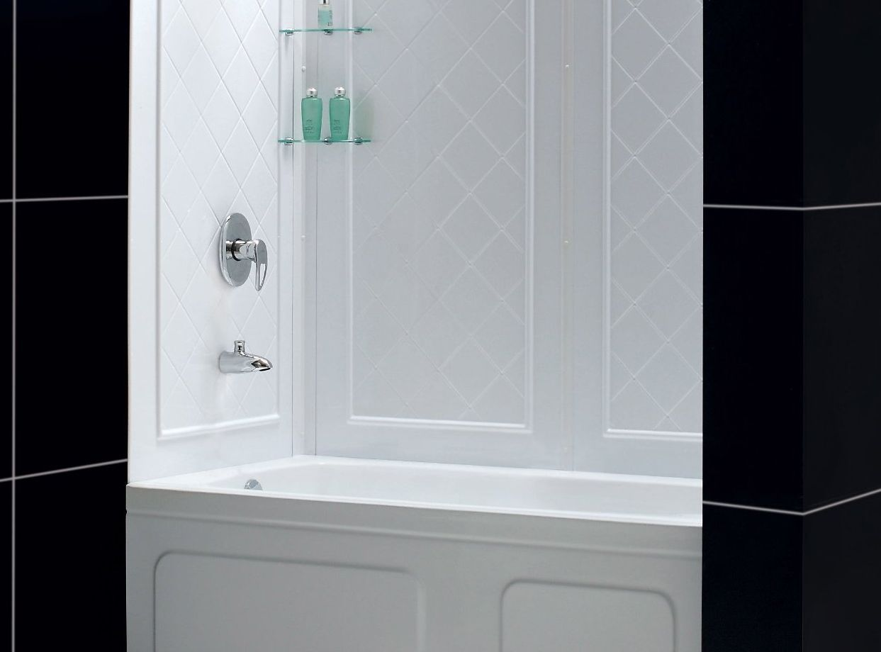 two piece shower tub unit.  3 Types of Prefabricated Shower Units For Your Home