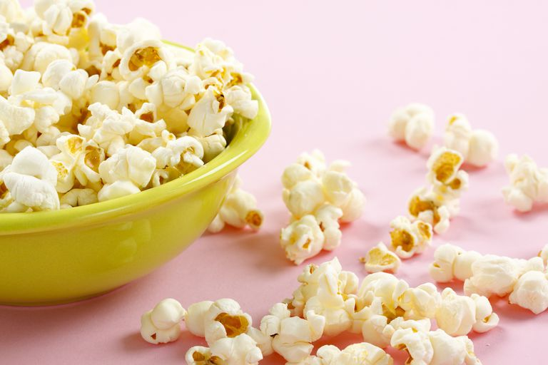 bowl of gluten-free popcorn