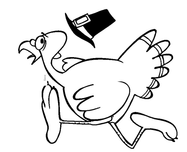 217 Thanksgiving Coloring Pages For Kids
