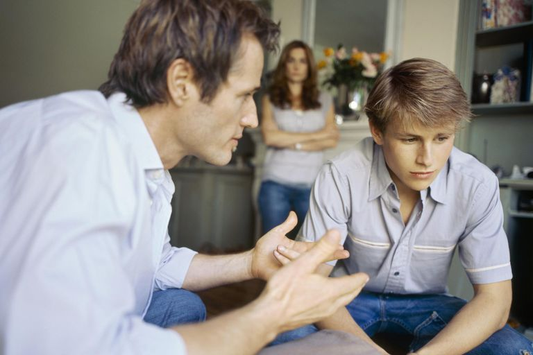 Talk to your teen about the importance of getting his diploma.