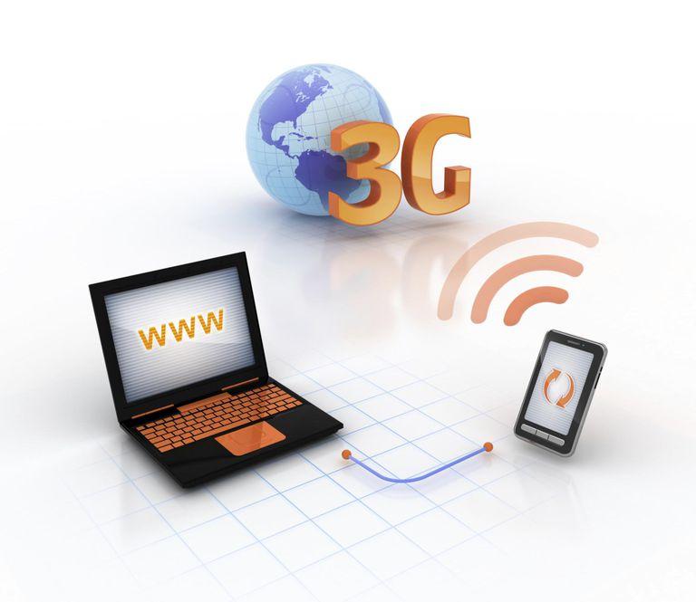 Online through 3G modem mobile