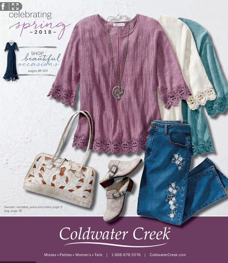The Spring 2018 Coldwater Creek catalog