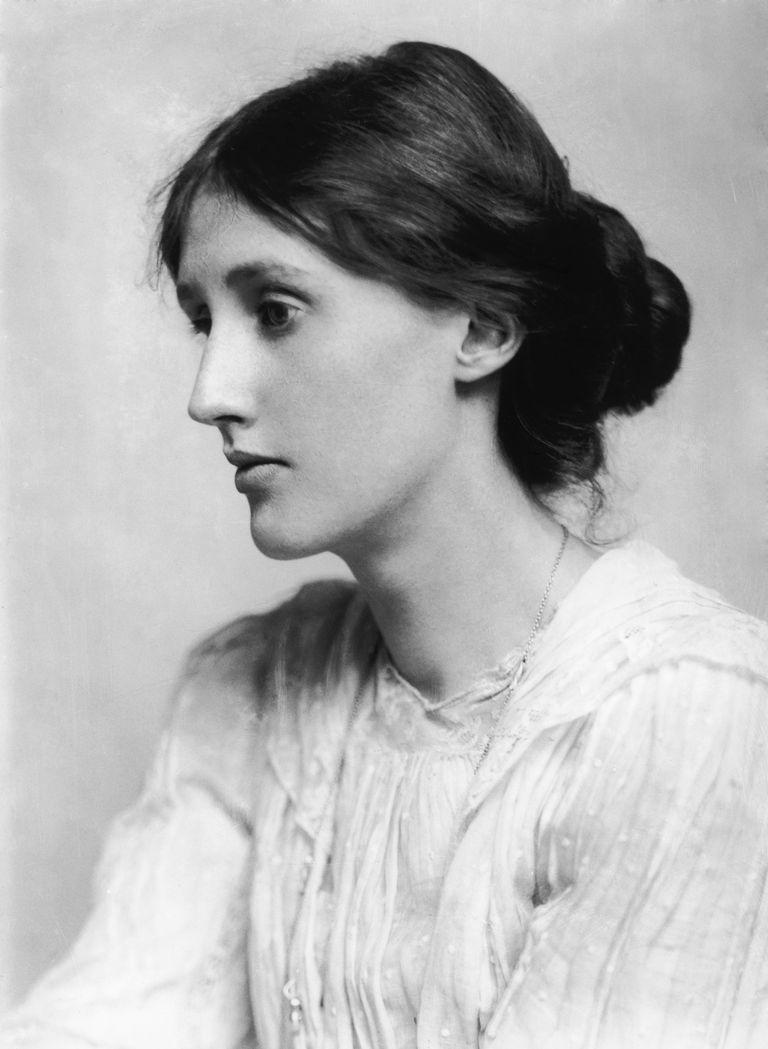 Virginia Woolf, British author, 1902. Artist: George Charles Beresford