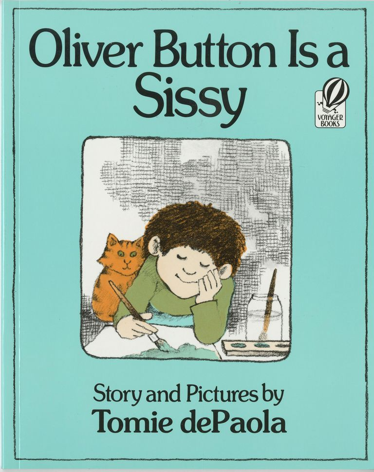 Oliver Button is a Sissy - Picture Book Cover