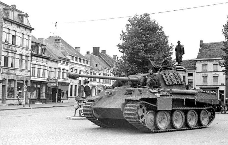 Panther tank during World War II