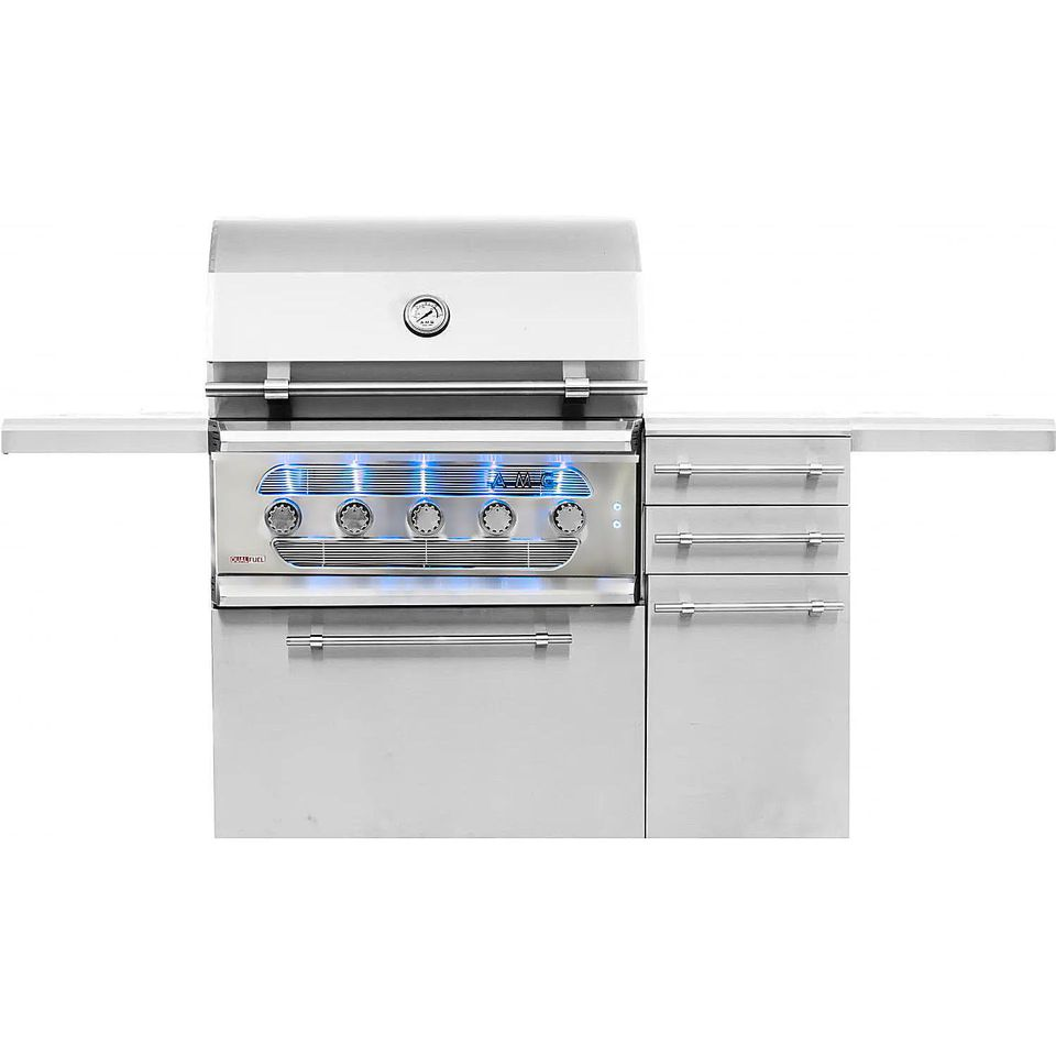 American Muscle Grill 36-Inch 5-Burner Dual Fuel Grill
