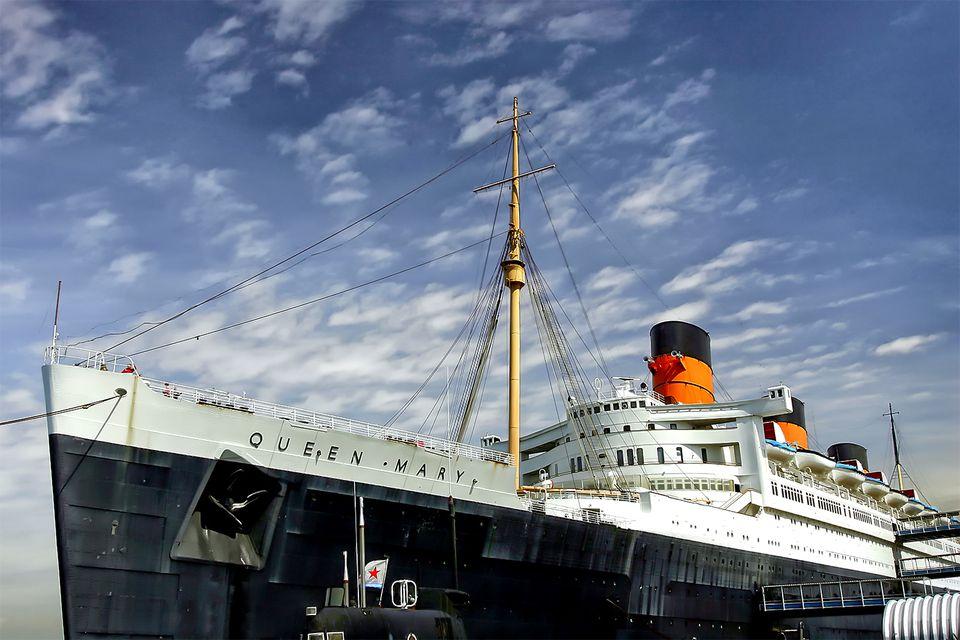 Queen Mary in Long Beach