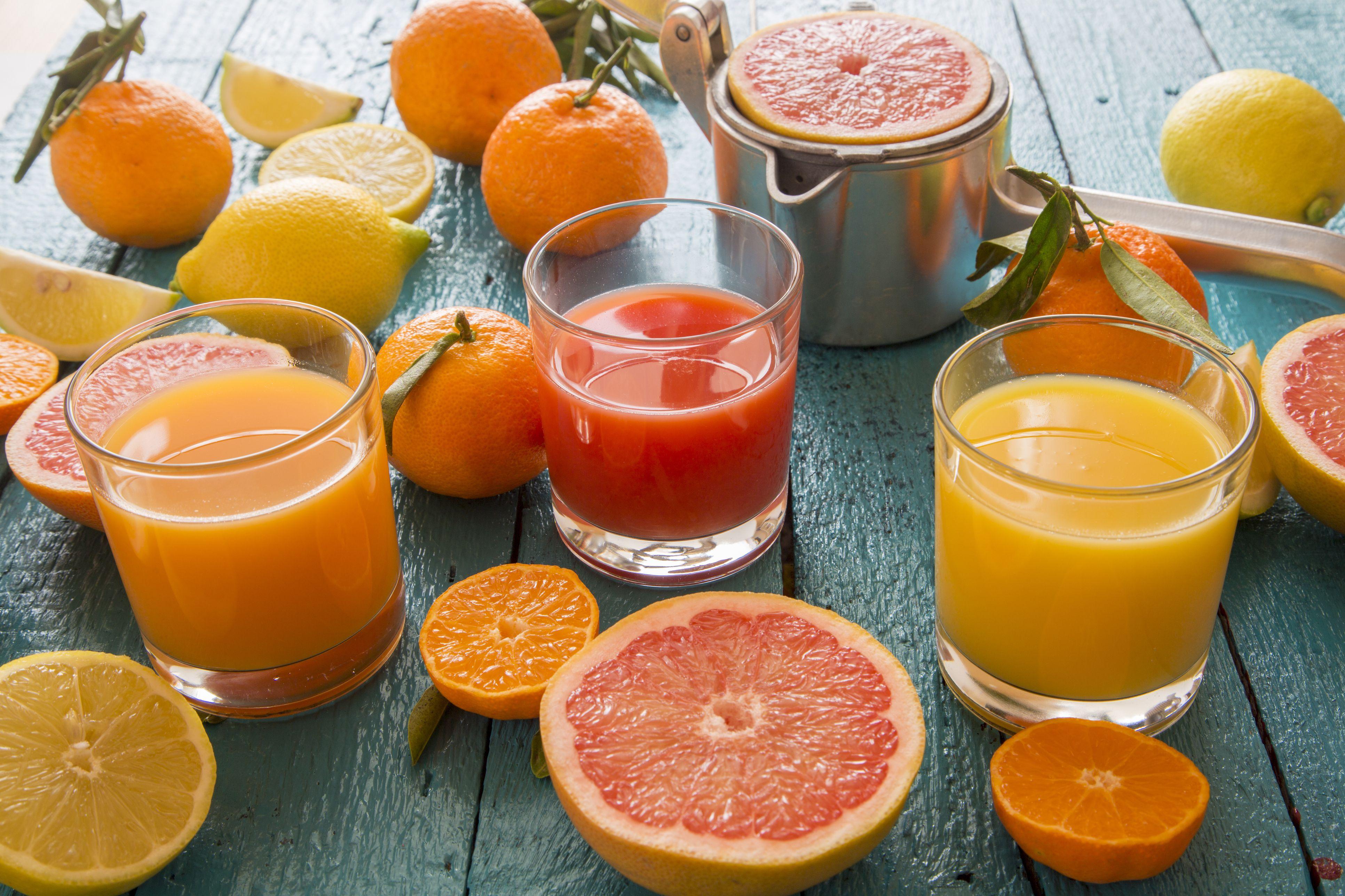 the interaction between fruit juice and allegra