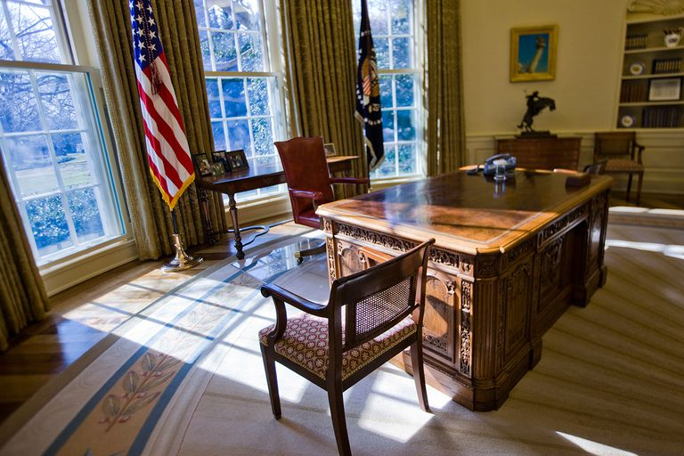 The White House Oval Office