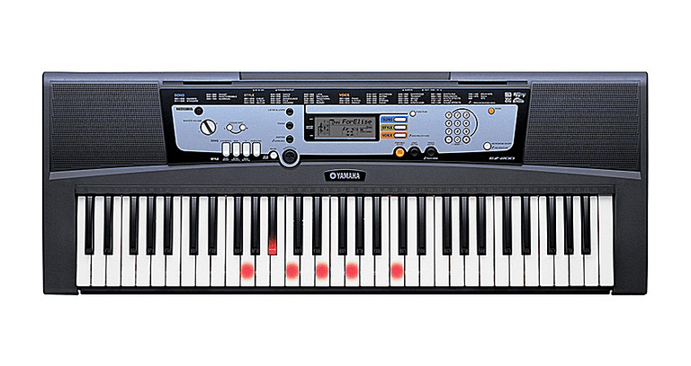 Yamaha Keyboard And Lessons On Tv