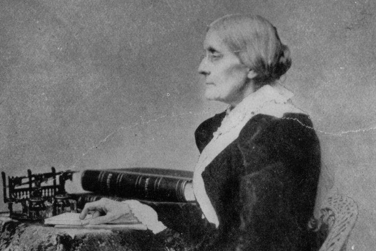 Susan B. Anthony, circa 1890