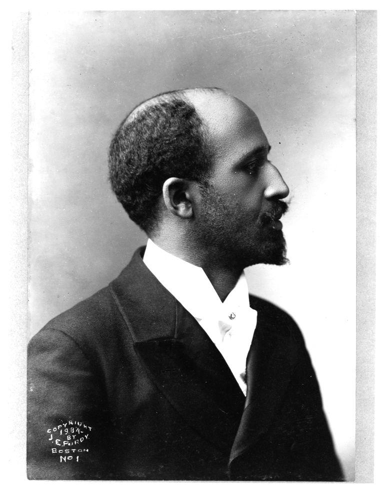 Writer and Civil Rights Leader W.E.B. Du Bois