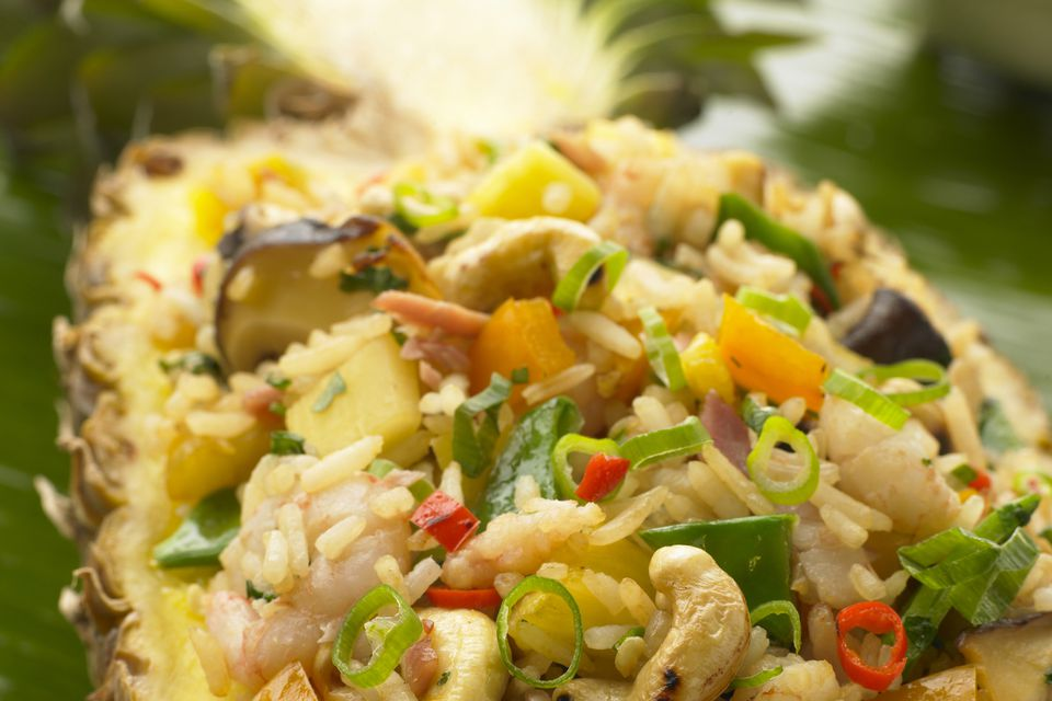 Shrimp and Pineapple Rice