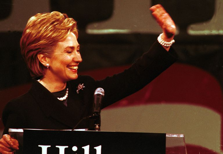 Hillary Clinton Announces Her Candidacy For Senate